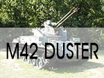 M42 Duster Camp Robinson, AR