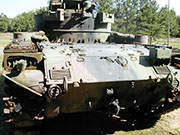 M42 Duster. Camp Robinson, AR